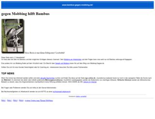 wiki.mobbing-gegner.de screenshot