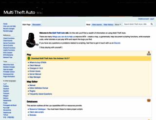 wiki.multitheftauto.com screenshot