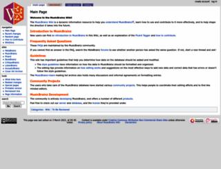 wiki.musicbrainz.org screenshot