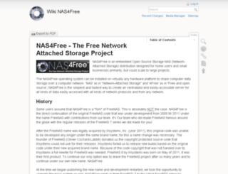 wiki.nas4free.org screenshot