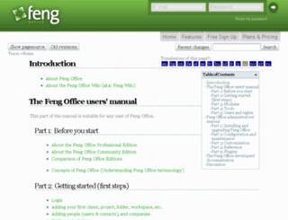 wiki.opengoo.org screenshot