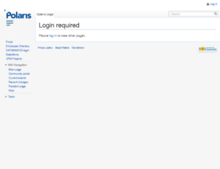 wiki.polarisproject.org screenshot