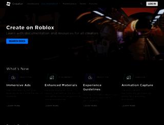 wiki.roblox.com screenshot
