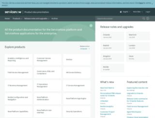 wiki.servicenow.com screenshot