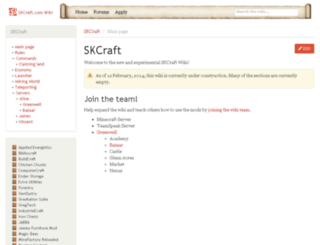 wiki.skcraft.com screenshot