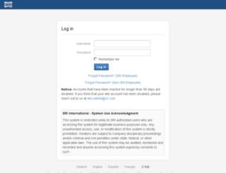 wiki.sri.com screenshot