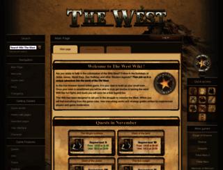 wiki.the-west.net screenshot