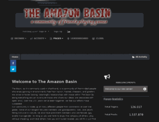 wiki.theamazonbasin.com screenshot