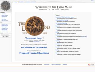 wiki.thedarkmod.com screenshot