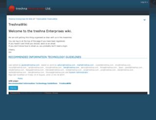 wiki.treshna.com screenshot