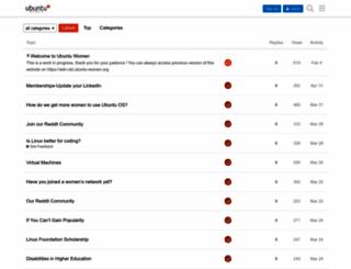 wiki.ubuntu-women.org screenshot