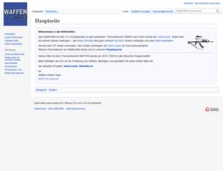 wiki.waffen-online.de screenshot