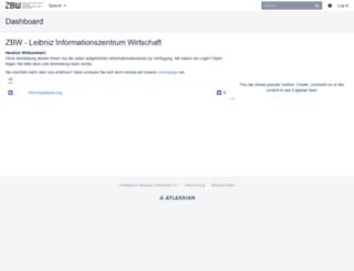 wiki.zbw.eu screenshot