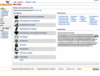 wiki4.caucho.com screenshot