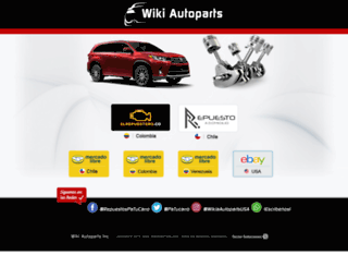 wikiautoparts.com screenshot