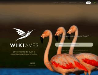 wikiaves.com.br screenshot