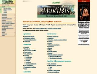 wikibis.com screenshot