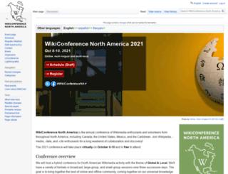 wikiconferenceusa.org screenshot