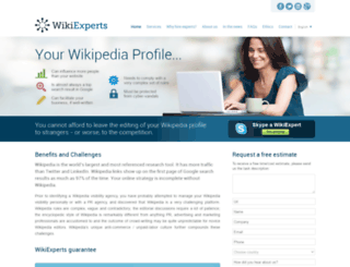 wikiexperts.ru screenshot