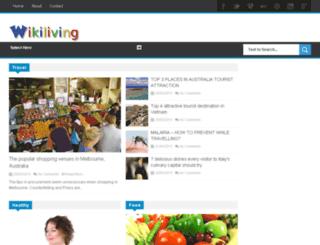 wikiliving.net screenshot