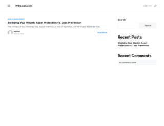 wikiloan.com screenshot