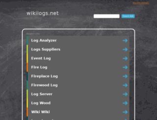 wikilogs.net screenshot