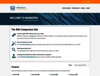 wikimatrix.org screenshot