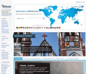 wikitravel.org screenshot