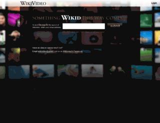 wikivideo.com screenshot
