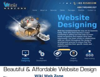 wikiwebzone.com screenshot