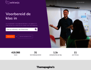 wikiwijs.nl screenshot
