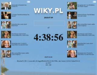 wiky.pl screenshot