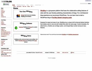 wikyblog.com screenshot