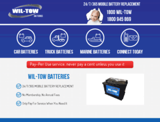 wil-towbatteries.com screenshot