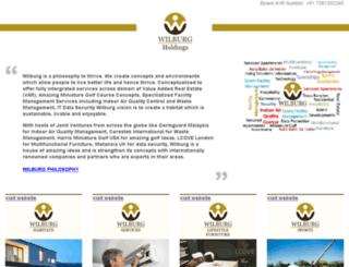 wilburg.org screenshot