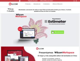 wilcom.co screenshot