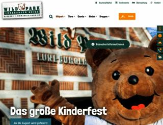 wild-park.de screenshot