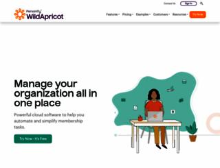 wildapricot.org screenshot