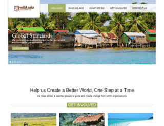 wildasia.org screenshot