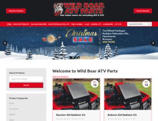 wildboaratvparts.com screenshot