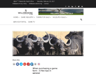 wildboere.com screenshot