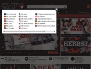 wildcat-b2b-de.emp.de screenshot