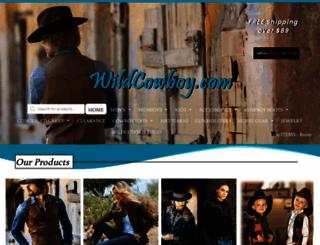 wildcowboy.com screenshot