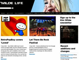 wilde-life.com screenshot