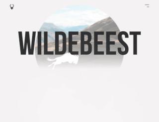 wildebee.st screenshot