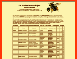 wildebijen.nl screenshot