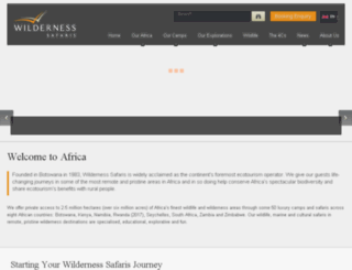 wilderness-adventures.com screenshot