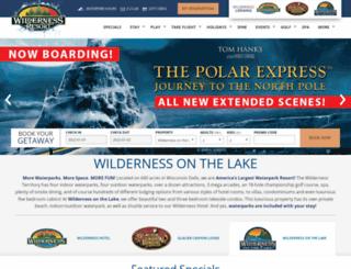 wildernessonthelake.com screenshot