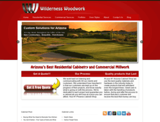 wildernesswoodwork.com screenshot