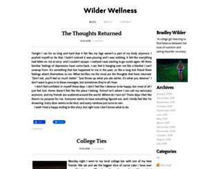 wilderwellness.weebly.com screenshot